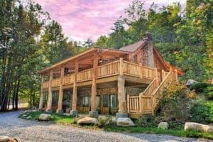 down the creek cabin