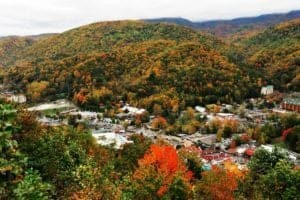Gatlinburg during the fall