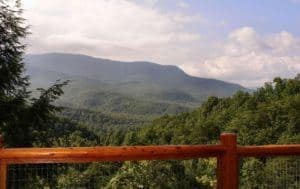 Heavenly View is one of Parkside's Gatlinburg cabins with mountain views