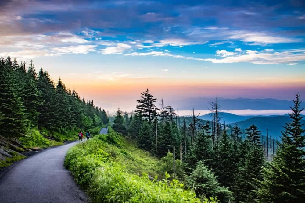 clingmans dome trail