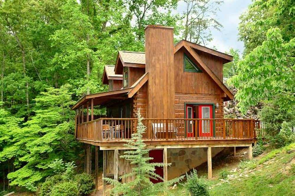 parkside cabin in gatlinburg tn
